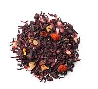Zwarte thee met toevoegingen