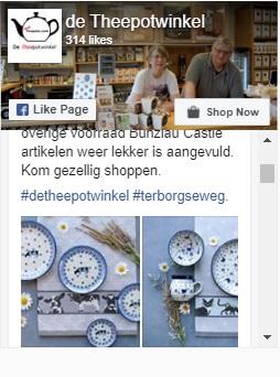 Facebookseite De Theepotwinkel