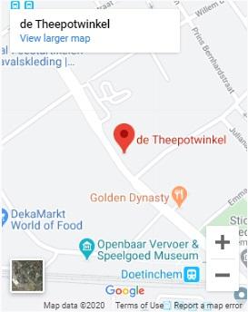 Google Maps De Theepotwinkel