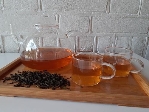 Biologische groene thee uit Ceylon OP Idulgashina