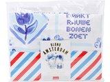 Blond Amsterdam Textiel Theedoek Delfts Blond_
