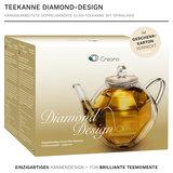 Creano Theepot Dubbelwandig Diamant 0,8 Liter_