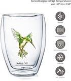 Creano Dubbelwandig Glas Hummi Groen 0,25 liter_