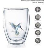 Creano Dubbelwandig Glas Hummi Blauw 0,25 liter_
