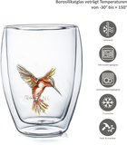 Creano Dubbelwandig Glas Hummi Rood 0,25 liter_