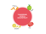 Tangerine Rose Grapefruit Infusion
