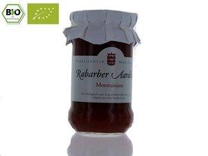 Marienwaerdt Rabarber Aardbeien Jam 330 gram BIO NL-BIO-01