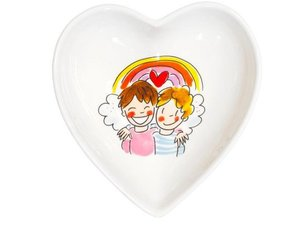 Blond Amsterdam Bowl Heart Boys 16,5 cm