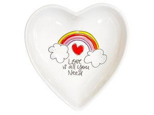 Blond Amsterdam Bowl Heart Love is all you need 16,5 cm