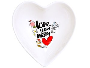 Blond Amsterdam Bowl Heart Love You Mom 16,5 cm