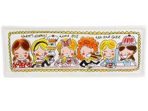Blond Amsterdam Cakeschaal 12 x 33 cm