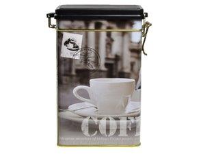 Koffieblik met Coffee opdruk