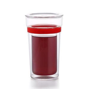 Samadoyo dubbelwandig glas rood 350 ML