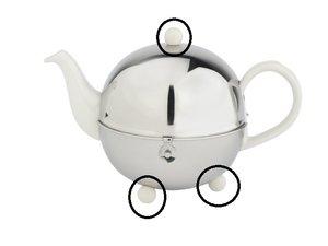 Bredemeijer Cosy Teapot 1300W - 1301W -1302W Cream Replacement Knob