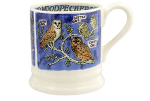 Emma Bridgewater Beker 2,8 dl Owls Woodpeckers
