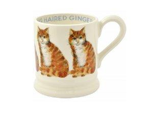 Emma Bridgewater Beker 2,8 dl Long Hair Ginger Cat