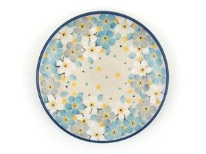 Bunzlau Gebakschotel 12,3 cm Blue Lente - Mei