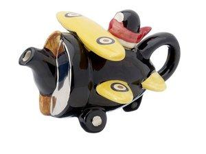 Aeroplane Rood One Cup Teapot