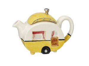 Caravan One Cup Teapot Geel