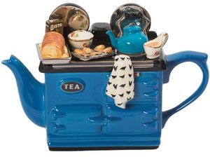 Aga Sunday Lunch Blauw Teapot