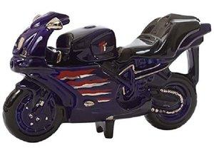 Motorbike Blue Theepot