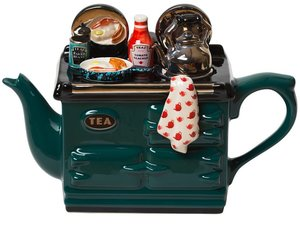 Aga Breakfast Green Theepot