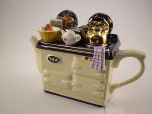 Aga Breakfast Cream Theepot