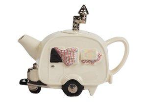 Caravan Creme Theepot