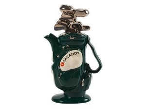 Golf Bag Groen Theepot