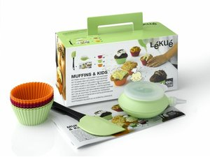 Lekue Kinder Muffin Kit