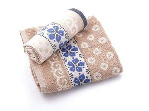 Bunzlau Keuken Handdoek Violets Sand