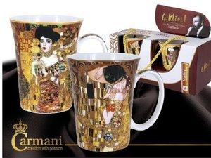 Carmani Set van 2 bekers - Klimt De kus en Judith I