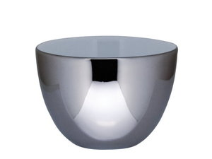 Bredemeijer Lotus Ceramic Kopjes, set van 2, Zilver