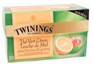 Twinings Groene Thee Citroen met honing 20 theezakjes (32 gram)