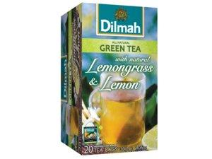 Dilmah Groene Thee Citroengras en citroen 20 Theezakjes (30 gram)