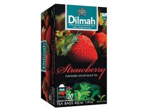 Dilmah Aardbeien thee 20 Theezakjes (40 gram)
