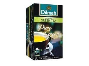 Dilmah Groene Thee Puur 20 Theezakjes (30 gram)