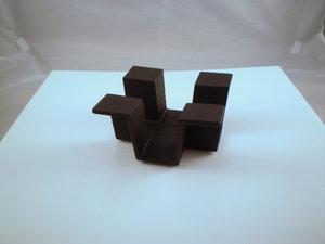 Gietijzeren Theelicht 13x13 cm Ore