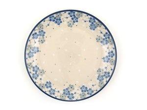 Bunzlau Plate 20 cm Blue Lente - April