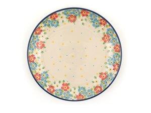 Bunzlau Plate 20 cm Blue Lente - Juni