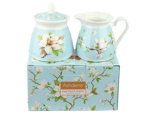 Ashdene Magnolia Suikerpot en Melkkannetje
