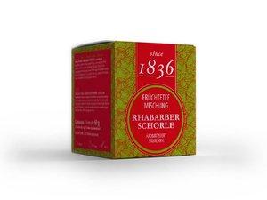 Fruit Thee Mix - Rabarber spritzer 15 Pyramide theezakjes (60 gram)