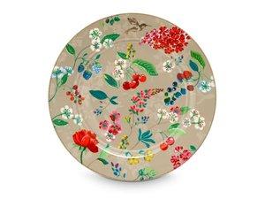 Pip Studio Bord Hummingbird Khaki 32 cm