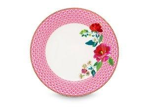 Pip Studio Dinerbord Rose Rose 26,5 cm