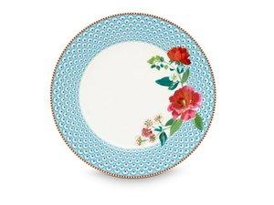 Pip Studio Dinerbord Rose Blauw 26,5 cm