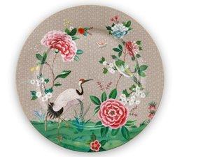 Pip Studio Onderbord Blushing Birds Khaki 32 cm