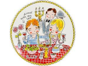Blond Amsterdam Dinerbord Love 26 cm