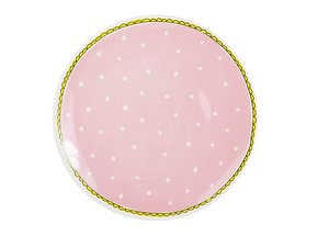 Blond Amsterdam Dinerbord Roze Stip 26 cm