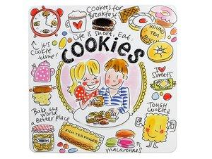 Blond Amsterdam Blik Cookies Vierkant