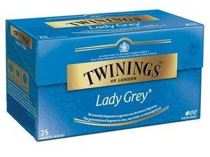 Twinings Lady Grey 25 theezakjes (50 gram)